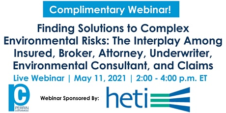 Finding Solutions to Complex Environmental Risks tickets