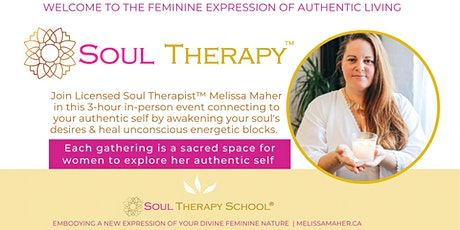 Soul Therapy™ Introduction Seminar with Melissa Maher tickets