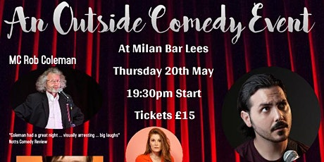 Outside Comedy Event in aid of The Ricky Trust tickets