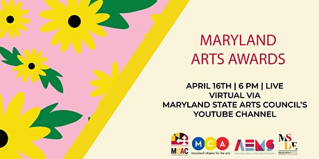 Maryland Arts Awards 2021 tickets