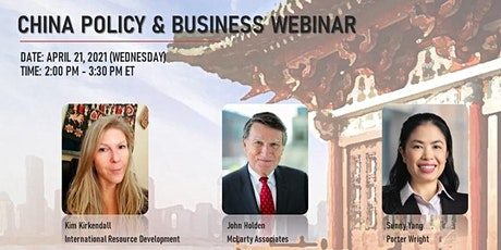 China Policy & Business Webinar tickets