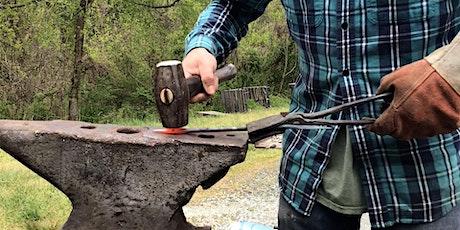 Blacksmithing: Coat hook tickets