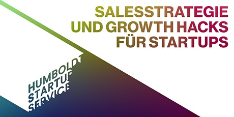 Salesstrategie und Growth Hacks für Startups Tickets