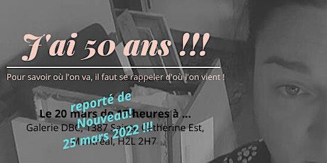 Le Demi siècle de Nath Rochefort ! tickets
