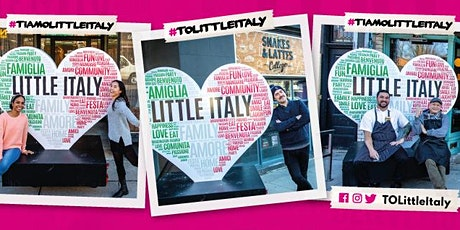 Ti Amo Little Italy Selfie Contest - Draw 4 tickets