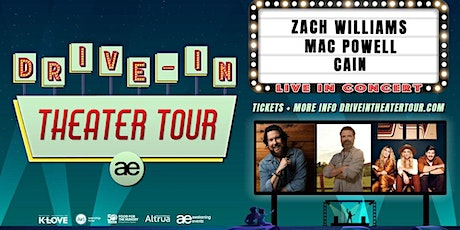 VOLUNTEER - Zach Williams Drive-In / Gibson City, IL tickets