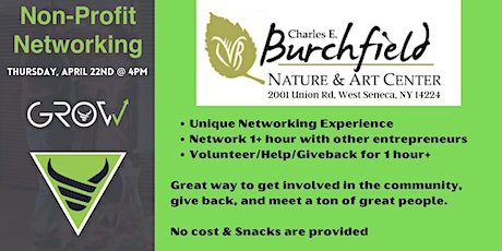 GROW Non-Profit Networking - Charles Burchfield Nature Center tickets