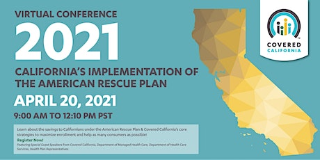 Covered California:  2021 Virtual Special Enrollment Period Conference tickets