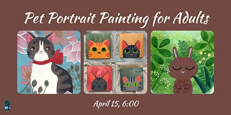 Pet Portrait Painting for Adults tickets