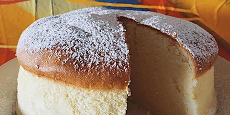 Online Baking Workshop: Japanese Cheesecake! Tickets