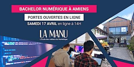 Portes Ouvertes - Bachelor Numérique (Bac+3) à Amiens tickets