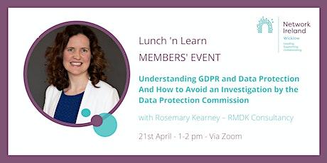 Network Ireland Wicklow - Understanding GDPR and Data Protection tickets