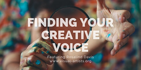 Finding Your Creative Voice Masterclass | VAA tickets