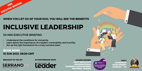 EXECUTIVE BRIEFING -  INCLUSIVE LEADERSHIP entradas