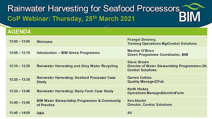 Rainwater Harvesting for Seafood Processors image