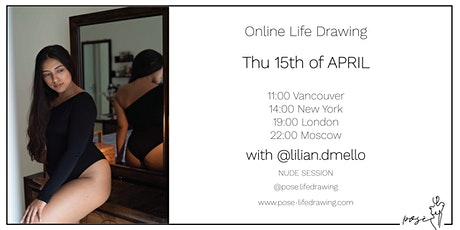 Life Drawing Event with @lilian.dmello tickets