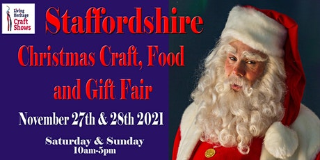 Staffordshire Christmas Craft, Food and Gift Fair tickets