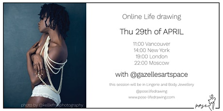 Life Drawing Event with @gazellesartspace tickets
