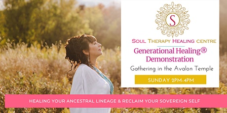 Generational Healing® Introduction & Demonstration tickets