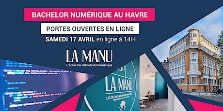 Portes Ouvertes - Bachelor Numérique (Bac+3) au Havre tickets