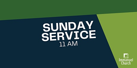 Sunday Service 4/25 - 11 am tickets