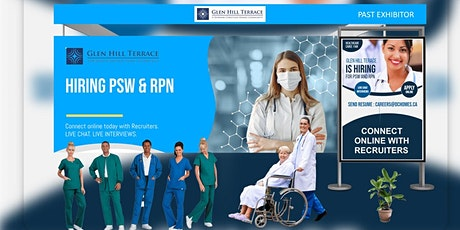 Registered Nurses Virtual Career Fair - August 25th, 2021 tickets
