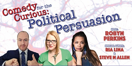 Comedy for the Curious: Political Persuasion tickets