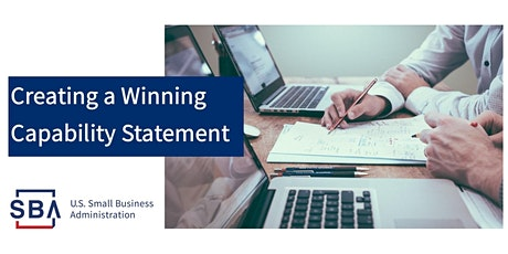 Creating a Winning Capability Statement tickets
