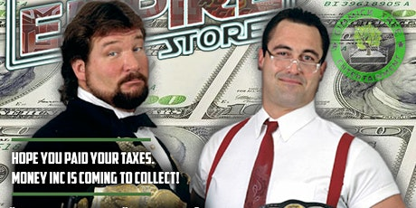 Meet Money Inc  Ted DiBiase and IRS tickets