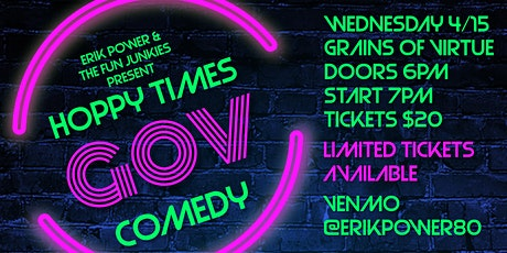 Erik Power & The Fun Junkies present Hoppy Times 2 tickets