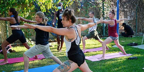 HappyFLOW YOGA in the Park with Brandon Anthony! *FREE Event :) tickets