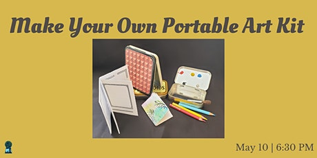 Make Your Own Portable Art Kit tickets