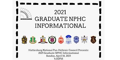 Hattiesburg Graduate NPHC Informational tickets