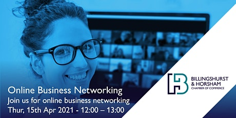 BHCC April Networking Meeting - Zoom tickets