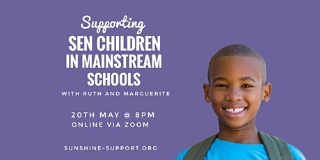 Supporting SEN Children in Mainstream Schools tickets