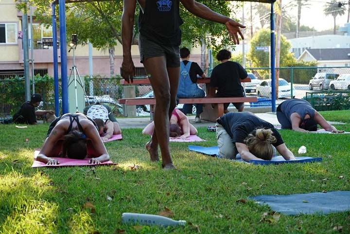 HappyFLOW YOGA in the Park with Brandon Anthony! *FREE Event :) image