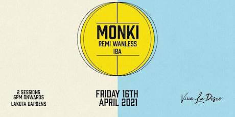 Viva Presents: Monki tickets
