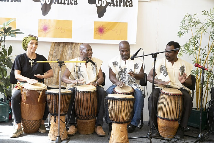 Go Africa Cultural Community Hub Workshops 2021 image