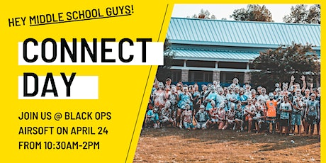 Guy's Connect Day @ Black Ops Airsoft tickets