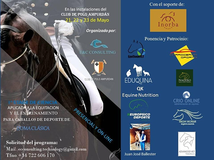 Imagen de 1º STAGE DE CIENCIA DE LA EQUITACION