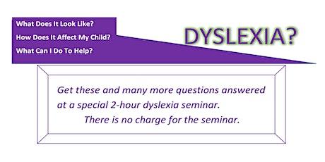 Dyslexia Seminar 2021 Loganville GA tickets