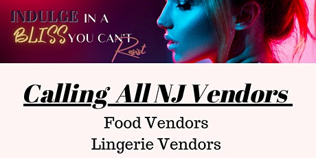 Calling All Vendors (Needed) tickets