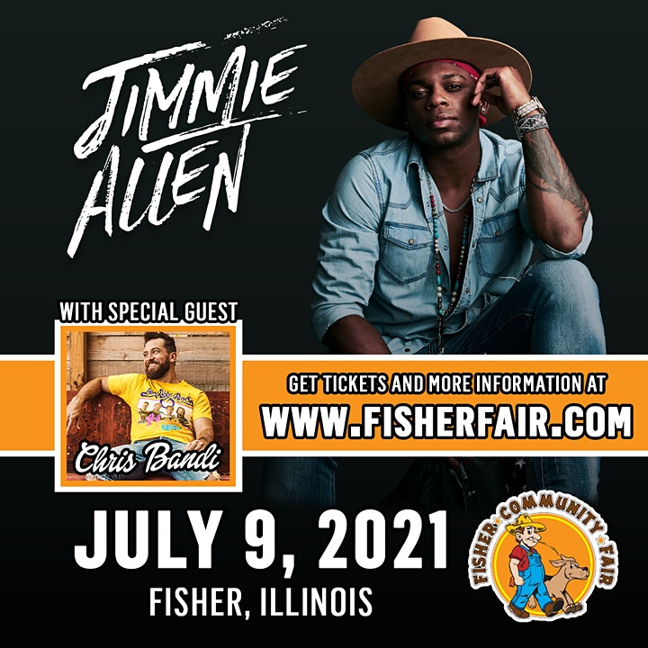 Jimmie Allen with Chris Bandi | Fisher Community F image