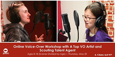 Online Voice-Over Workshop with A Top VO Artist and Scouting Talent Agent tickets