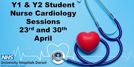 Y1&Y2 Student Nurse Cardiology Session tickets