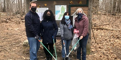 Cleanup at  Croton Gorge Park