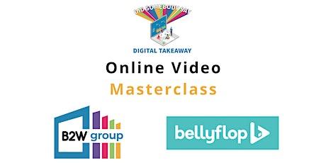 Online Video Content Masterclass tickets
