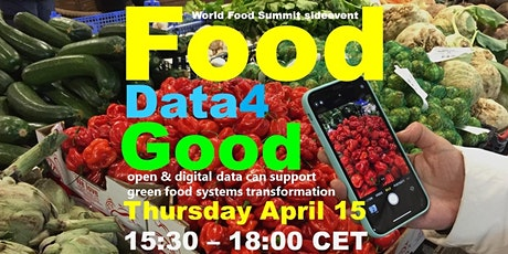 FoodData4Good –  open & digital data for food systems transformation tickets