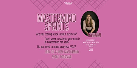8 Week Mastermind Sprint – Wednesdays 4PM tickets