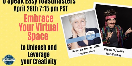 Embrace Your Virtual Space - to Unleash and Leverage Your Creativity tickets